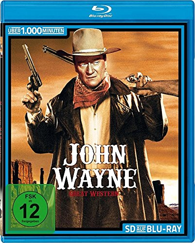 JOHN WAYNE - 32 Great Western - frühe Klassiker Collection SD on - Western Wayne John Collection