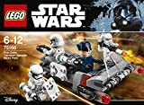 Lego 75166 Star Wars First Order Transport Speeder Battle Pac, Star Wars Auto Spielzeug