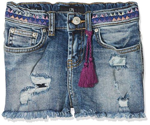 LTB Jeans Mädchen Shorts Layla G, Blau (Mapelia Wash 50792), 128 (Herstellergröße: 8) (Mädchen Shorts Jeans)