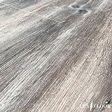 Click-Vinyl Bodenbelag Holzoptik Eiche 2046 Stärke: 4mm, Nutzschicht: 0,55mm, PVC, Industrielle NK: 42 (2,216m²)