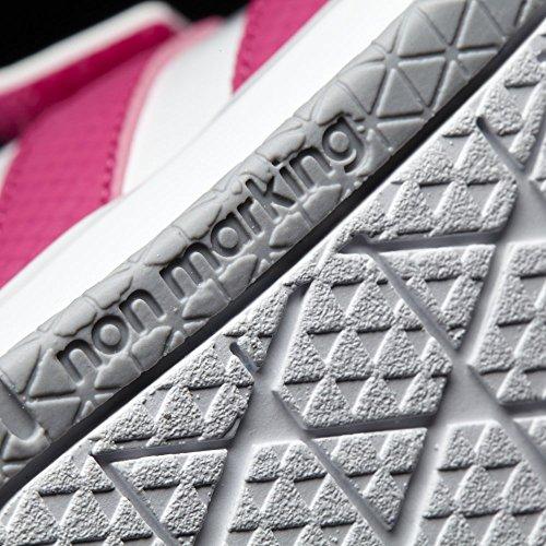 adidas Lk Trainer 7 Cf, Baskets Basses Mixte Enfant blanc/rose
