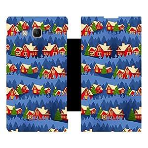 Skintice Designer Flip Cover with Vinyl wrap-around for Samsung Tizen Z3, Design - Christmas House