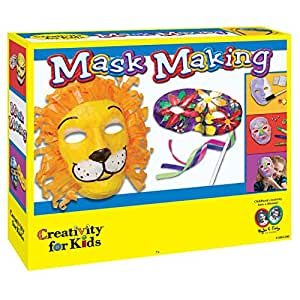 creativity for kids cfk1885 kit de loisirs cr atifs masque fabriquer jeux et. Black Bedroom Furniture Sets. Home Design Ideas