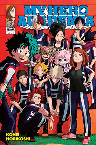 My Hero Academia, Vol. 4: The Boy Born with Everything (English Edition)