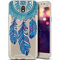 Surakey - Carcasa para Samsung Galaxy J52017, funda delgada de silicona transparente, TPU con absorción de golpes, bumper y antiarañazos, diseño animado, ELE00204XD