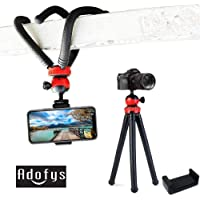 Adofys Flexible Gorillapod Tripod with 360° Rotating Ball Head Tripod for All DSLR Cameras(Max Load 1.5 kgs) & Mobile…