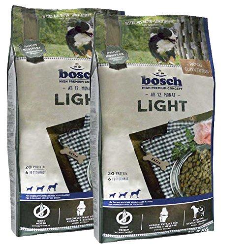 Für übergewichtige Hundefutter Hunde (2 x 12,5 kg Bosch Adult Light Premium Diät Hundefutter für übergewichtige Hunde)