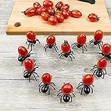 CHIPYHOME Set 24 unds divertidos y originales pinchos hormiga reutilizables para...