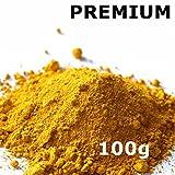 Pigmentpulver, Eisenoxid, Oxidfarbe - 100g (29,90€/kg) im Beutel Farbpigmente, Trockenfarbe für Beton + Wand - Farbe: gelb