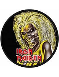 Classic rock guitar iron maiden killers face écusson
