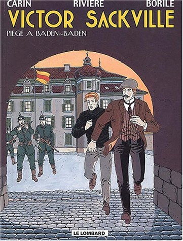 Victor Sackville - tome 11 - Piège à Baden-Baden par Rivière