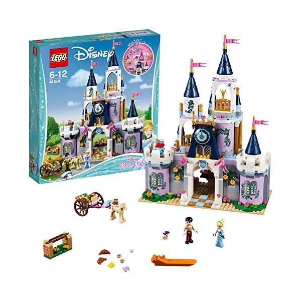 LEGO Disney Princess - Il Castello dei Sogni di Cenerentola, 41154 2 spesavip