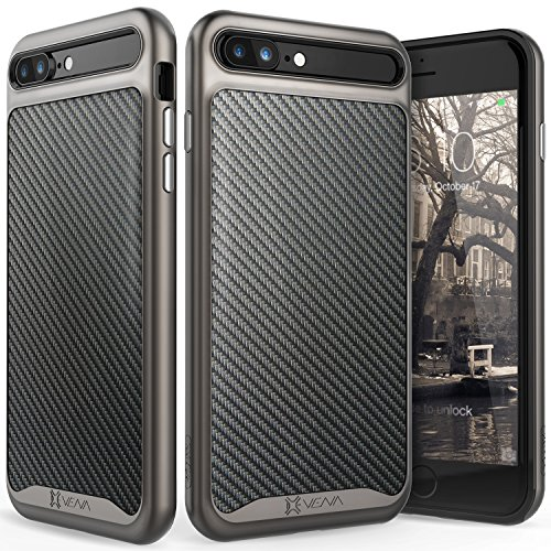 iphone-7-plus-hulle-vena-vluxecarbon-fiber-zuruck-metallisierte-taste-schutz-slim-fit-fall-cover-fur