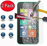 FoneExpert® 2 Pack - Nokia Lumia 530 Panzerglas, Gehärtetem Schutzfolie Glasfolie Hartglas Panzerfolie Displayschutzfolie für Nokia Lumia 530