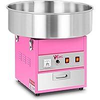 Royal Catering Machine à Barbe à Papa Professionnelle RCZK-1200-W (diamètre de la cuve 52 cm, 1.200W, rendement horaire…
