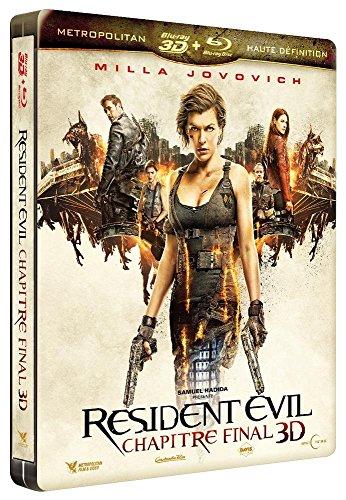 Resident Evil Chapitre final Blu-ray 3D