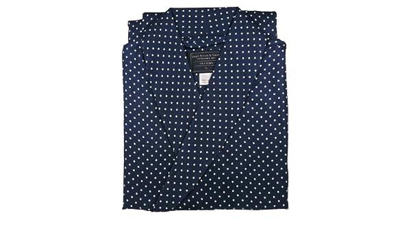Vestaglia Da Camera Uomo : Lloyd attree & smith vestaglia da camera in seta colore: blu a