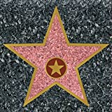 Hollywood Style Star Peel and Place Decoration - 1 Sheet