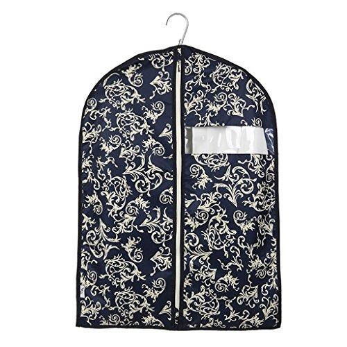 Sacs de rangement Xuan - Worth Another Motif Floral Bleu foncé 5 pièces lavables vêtements Housse de Protection de fenêtre Housse de Haute qualité Sac de Valise (Taille : 60 * 80cm)