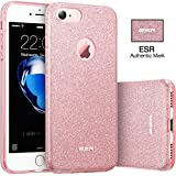 Coque iPhone 7, ESR Bling Bling Gliter Sparkle Coque iPhone 7 Paillette [ Ultra Mince ] Housse ...
