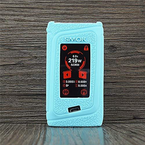 ORIN Schutzhülle Silikon Hülle für Smok Morph 219W Box Mod SchützendSilikon Ärmel AbdeckungWickeln Haut Abziehbild(Tiffany-Blau)