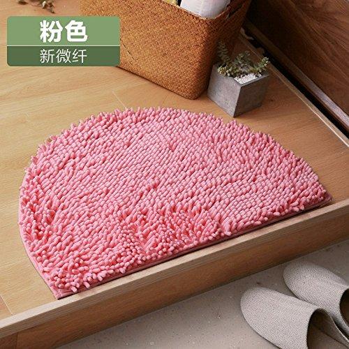 fte fuß teppich eau de toilette bad bad matte zimmer - bad - fußabtreter 40 * 63cm,pink (Haarigen Fuß)