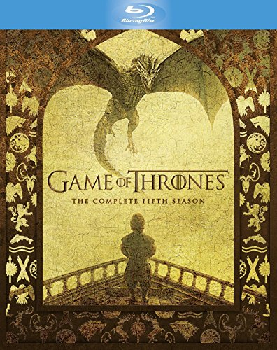 Game of Thrones: The Complete Season 5 (4-Disc Box Set) (Region Free + Slipcase with Booklet Packaging + Fully Packaged Import)