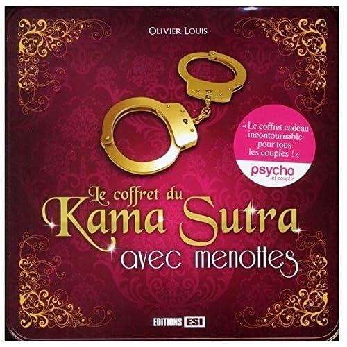 Le coffret du Kama Sutra avec menottes