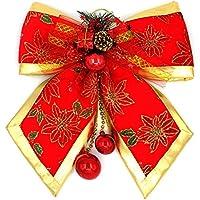YUYU Grande legame di arco decorazioni di Natale regali di Natale flanella materiale 45 * 50 cm
