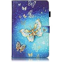 Fundas Galaxy Tab E 9.6, Billionn dibujos animados lindo Premium Billetera PU Cuero Magnética Stand Silicona Piel Bumper Protector Tapa Para Samsung Galaxy Tab E 9.6 Inch SM - T560 / T561