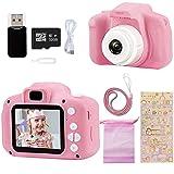 Ibello Fotocamera Bambini, Macchina Fotografica Digitale Videocamera 8MP 1080 HD Schermo da 2 Pollici con Scheda di Memoria d