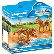 Playmobil 70359 - 2 Tiger with Baby, Age 4 and Above