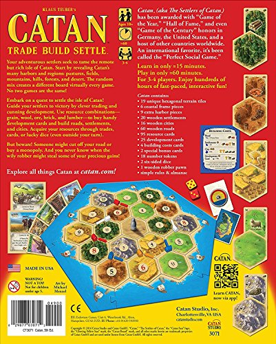 Catan Board Game (2015 Edition)