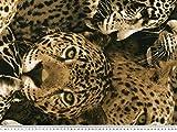Geschmackvoller Dekostoff, Leopard,