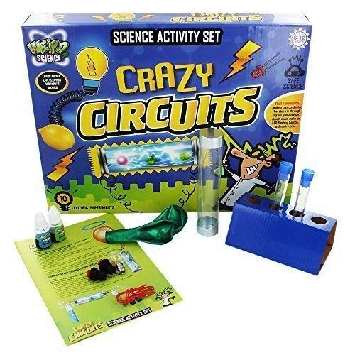Weird Science Crazy Schaltungen Elektrisch Experimente Bildungs Wissenschaft Set Weird-spielzeug