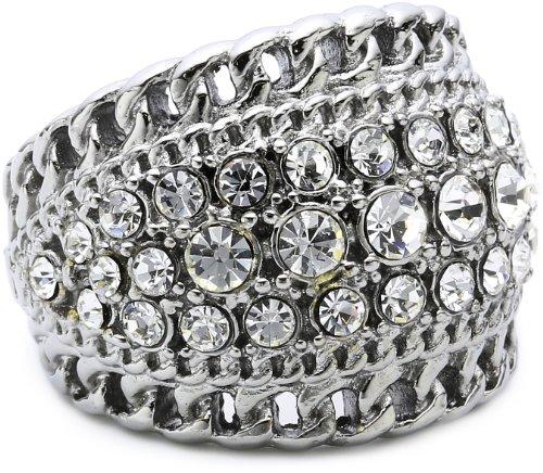 Dyrberg/Kern Damen-Ring RIKA III SS Crystal 332733