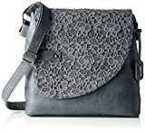 Rieker H1107, Women's Shoulder Bag, Blau (jeans/denim), One Size