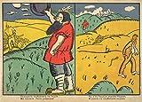 TOS ferina representación de la Victoria rusa y defensa de Varsovia en la batalla de Lodz c1914 con Vladimir maiakovsky 250gsm polarmk tarjeta del arte A3 suprematismo reproducción de póster