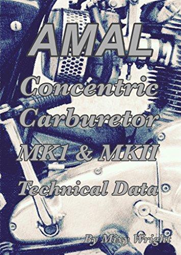 AMAL Concentric Carburetor MK1 & MKII Technical Data (English Edition) por Mixy Wright