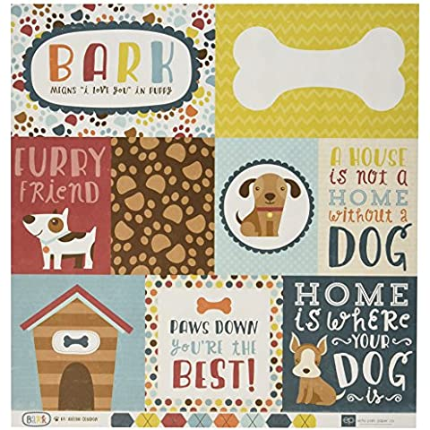 Echo Park Paper corteccia Double Sided Cardstock-12