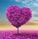 yeesam Art neuen 5D Diamant Painting Kit–Romantische Blume Baum Love Baum–DIY Kristall Diamant Strass Gemälde eingefügt Malen nach Zahlen Kits Kreuzstich Stickerei Love Tree 1