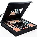 Multi-purpose Makeup Kit - 24 Colors Eyeshadow Palette, 4 Foundations, 2 Brow