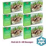 Pack de 6 SALCHICHAS TRADICIONALES 380g   Fry's Family Foods   Salchichas Vegetarianos   Salchichas Veganas   Congelado   Salchichas Microondas