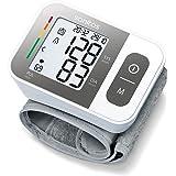 Sanitas SBC 15 Pols-bloeddrukmeter, volautomatische bloeddruk- en hartslagmeting, waarschuwingsfunctie bij mogelijke hartritm