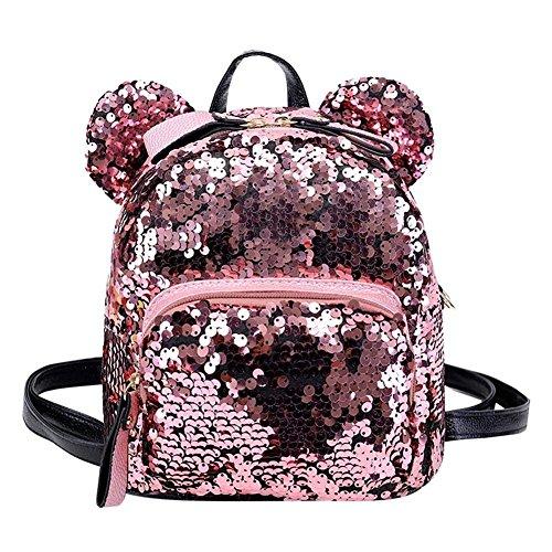 Nordvpn Mini zaino da viaggio con glitter glitter e zainetto bowknot per bambina