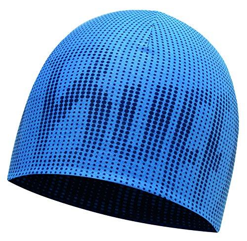 Buff Coolmax Reversible HAT R Mütze, Deep Logo Dark Navy-Blue, One Size -