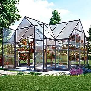 Orangerie Victory inkl. Stahlfundament - 10,5 qm