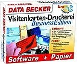 Visitenkarten Druckerei Business Edition. CD- ROM für Windows ab 95. Software und Papier