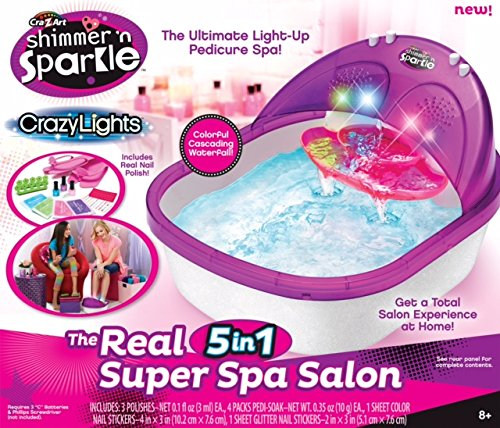 Cra-Z-Art - Spa para pies & pedicura (ColorBaby 43921)