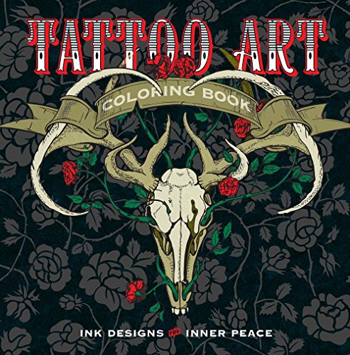 Tattoo Art Colouring Book: Ink Designs for Inner Peace (Colouring Books) por Lark Crafts